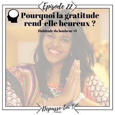 Pourquoi la gratitude rend-elle heureux ?