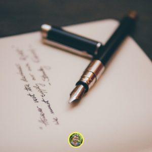 écrire pour garder le moral